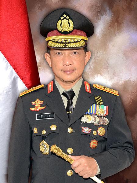 Komjen. Pol. Drs. H.M. Tito Karnavian, M.A., Ph.D